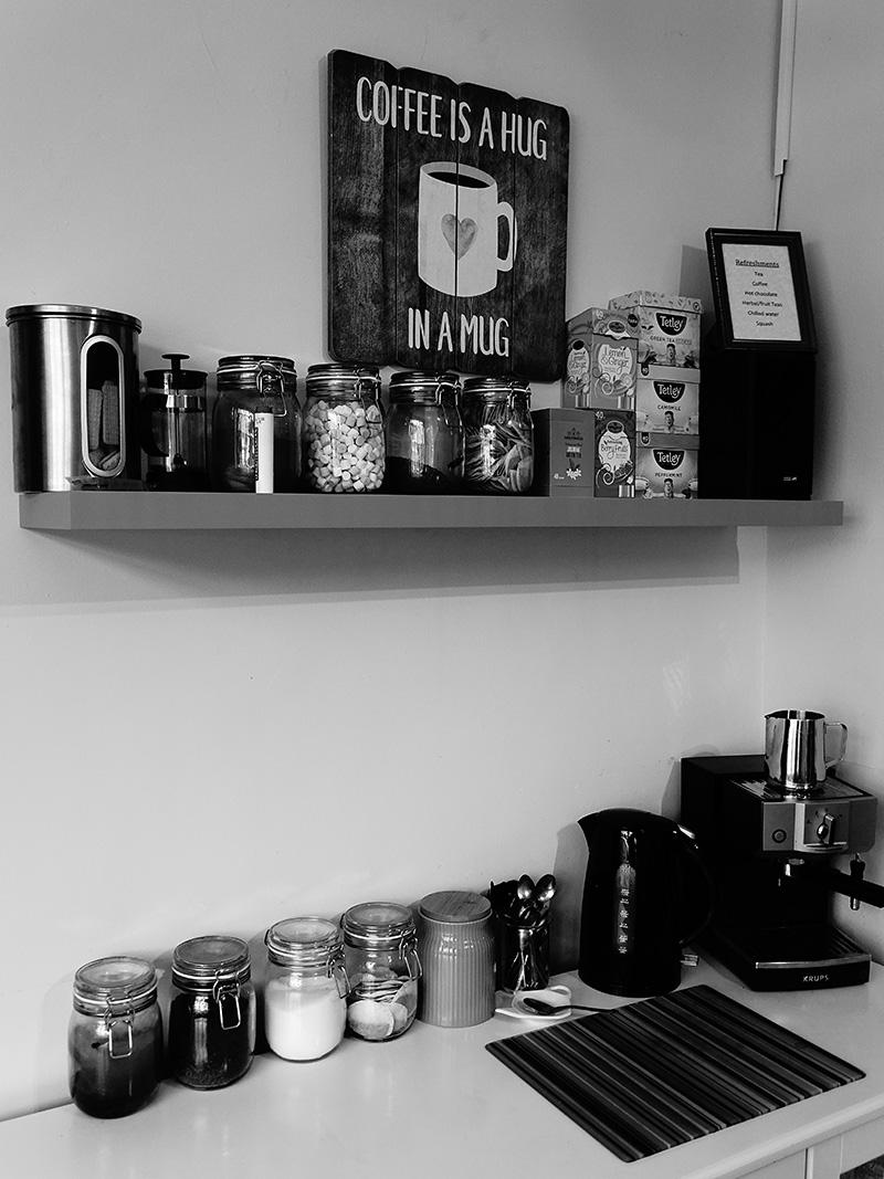 salon coffee